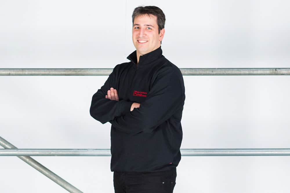 Sandro Rende, Geschäftsführer Rende Gerüstbau GmbH